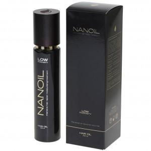 Nanoil - olejek do włosów niskoporowatych